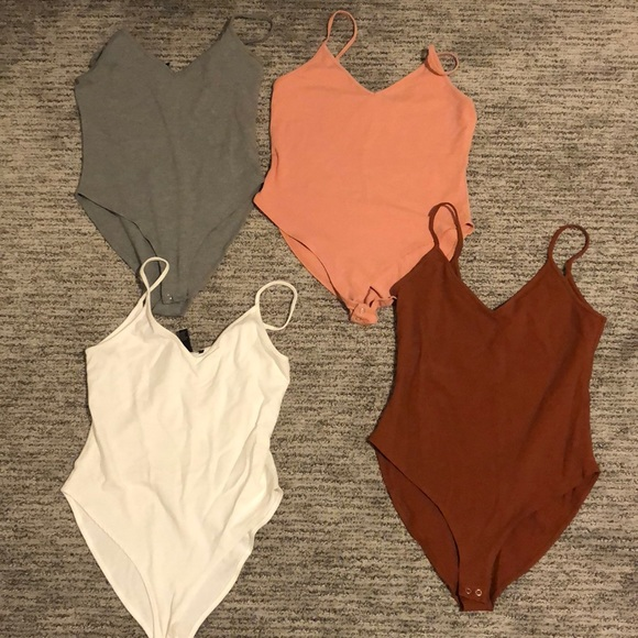 Forever 21 Tops - *BUNDLE * Four body suits from forever 21